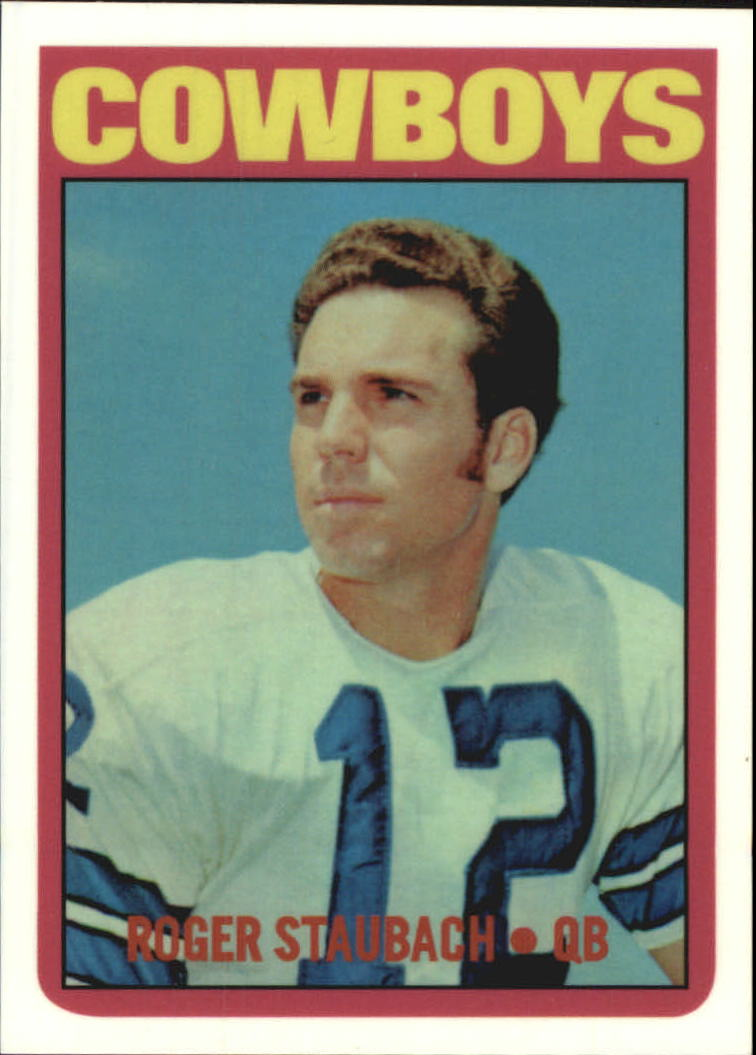 1999 Topps Stars Rookie Reprints #1 Roger Staubach