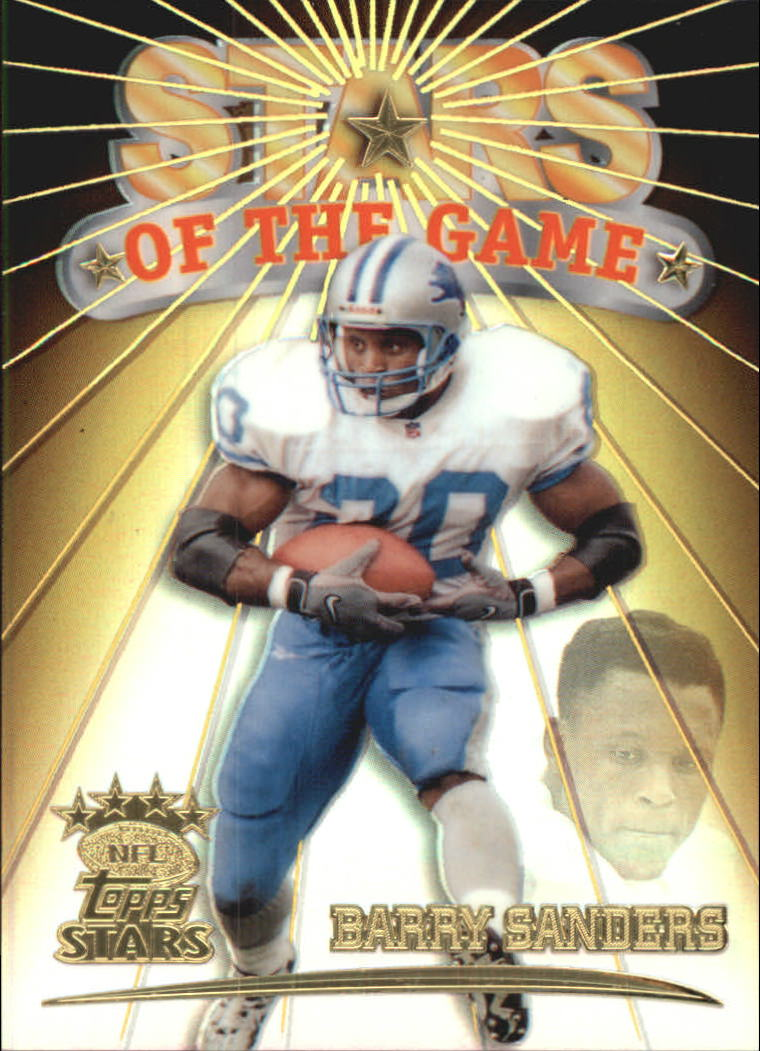 1999 Topps Stars Stars of the Game #S3 Barry Sanders