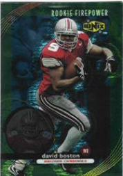 1999 UD Ionix #75 David Boston RC