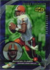 1999 UD Ionix Reciprocal #R65 Donovan McNabb