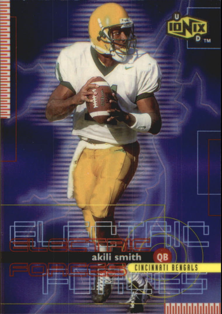 1999 UD Ionix Electric Forces #EF4 Akili Smith
