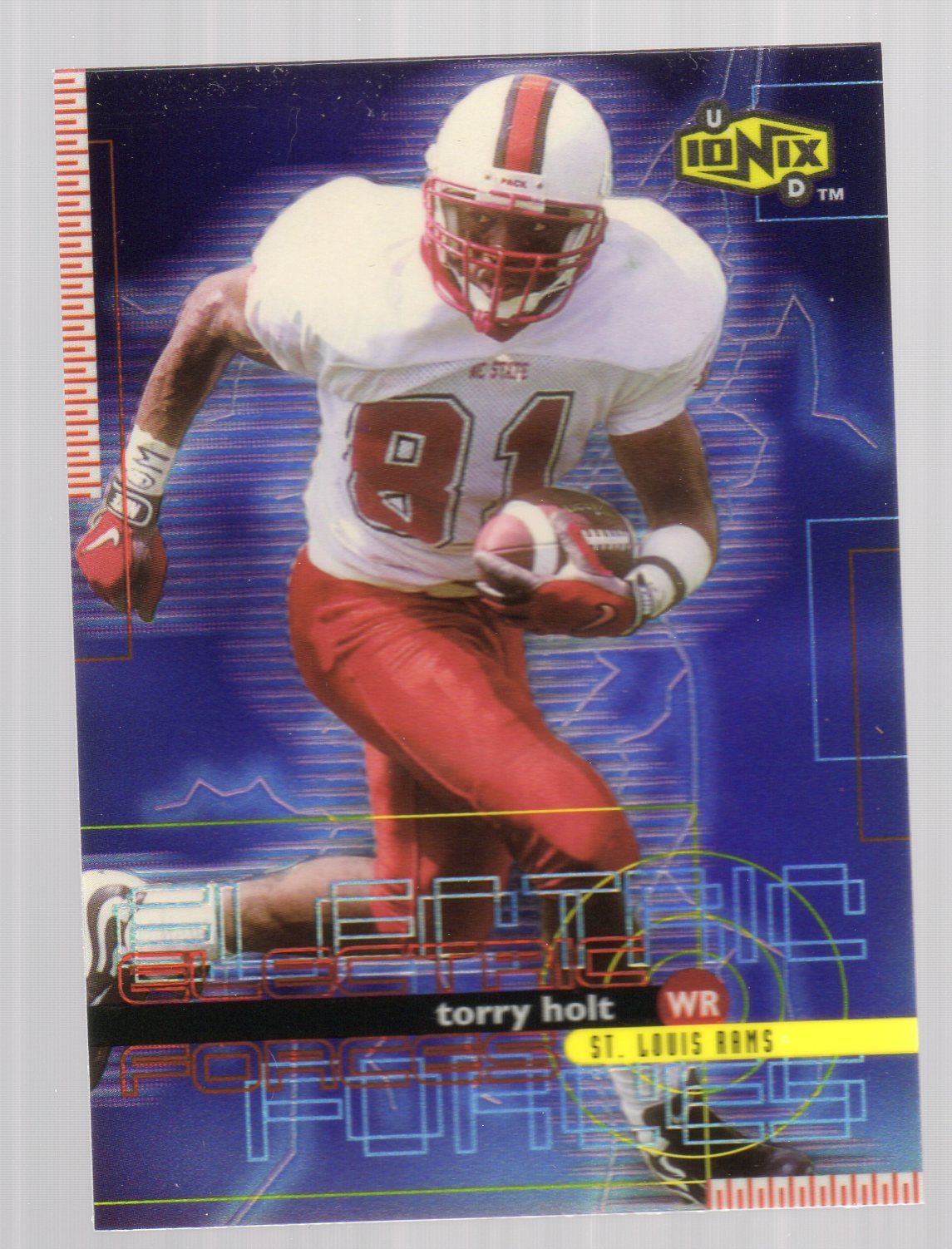 1999 UD Ionix Electric Forces #EF9 Torry Holt