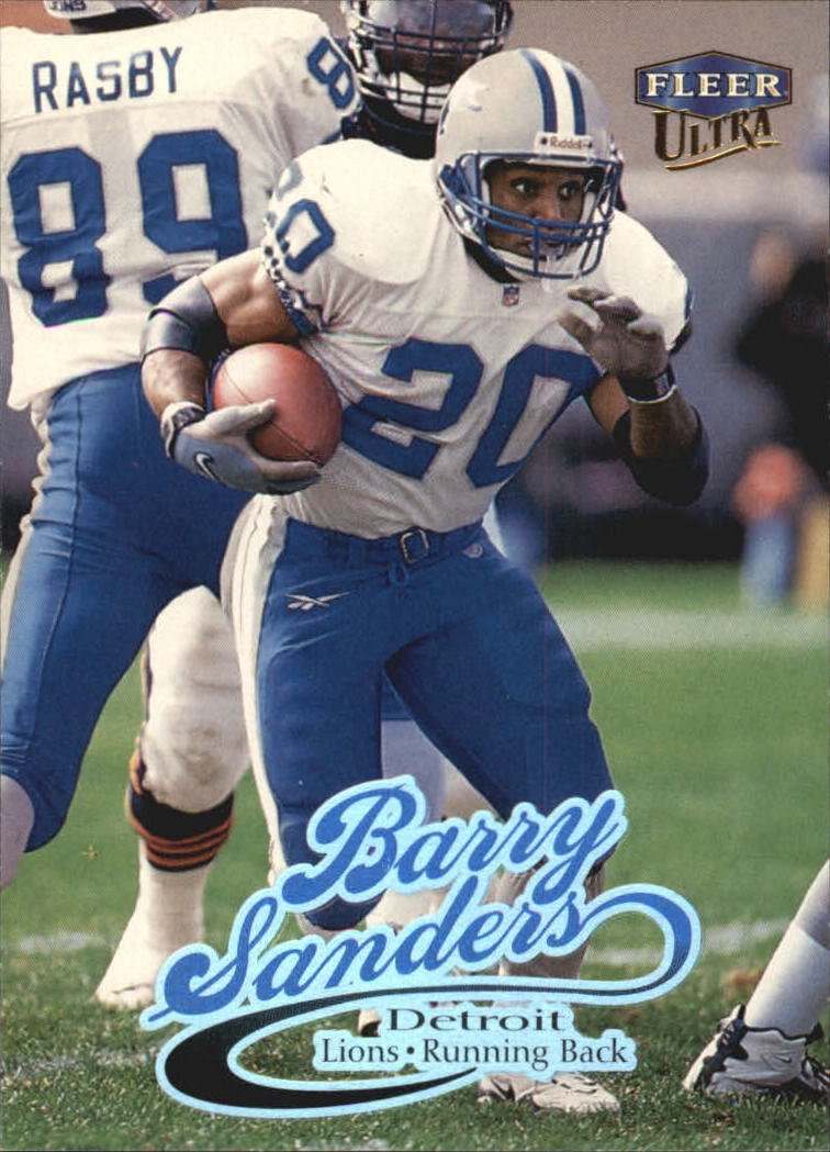1999 Ultra #150 Barry Sanders