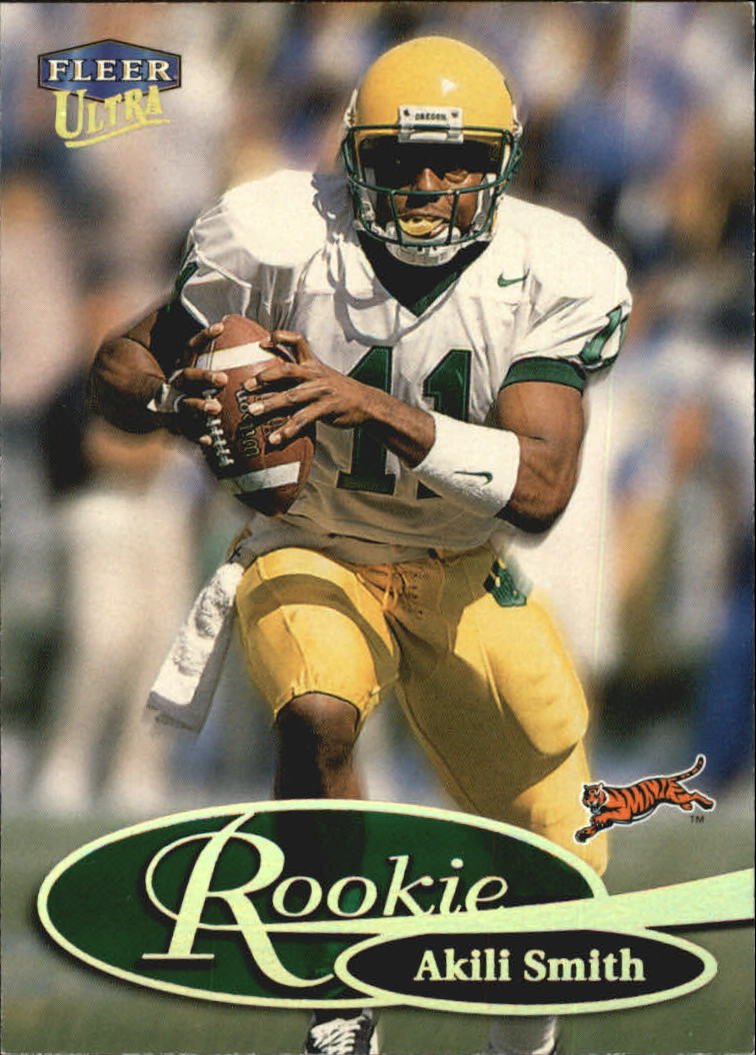 1999 Ultra #278 Akili Smith RC