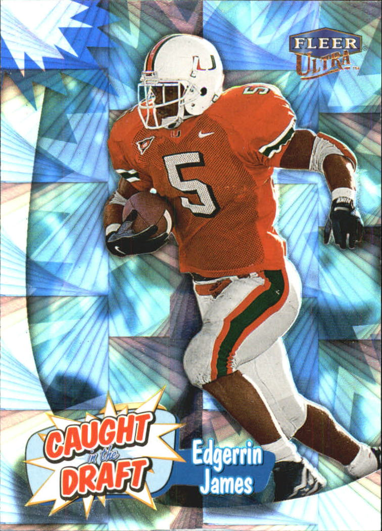 1999 Ultra Caught In The Draft #10 Edgerrin James