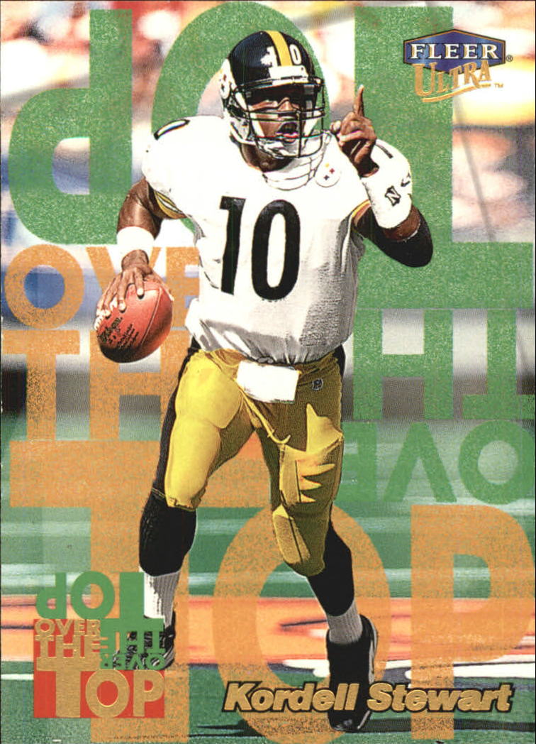 1999 Ultra Over The Top #18 Kordell Stewart