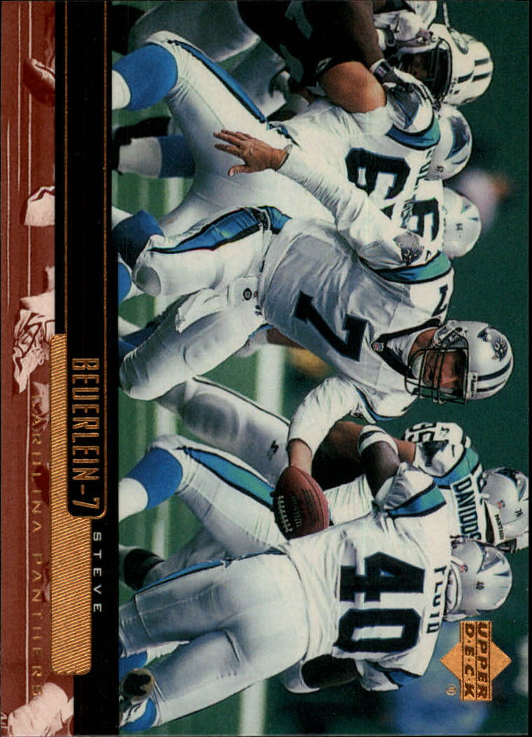 1999 Upper Deck #33 Steve Beuerlein