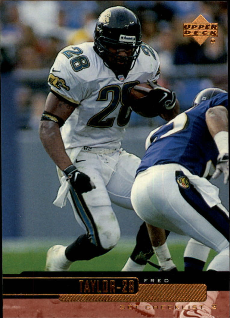 1999 Upper Deck #224 Fred Taylor CL
