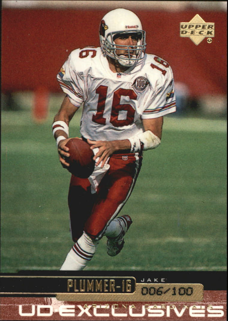1999 Upper Deck Exclusives 100 #1 Jake Plummer