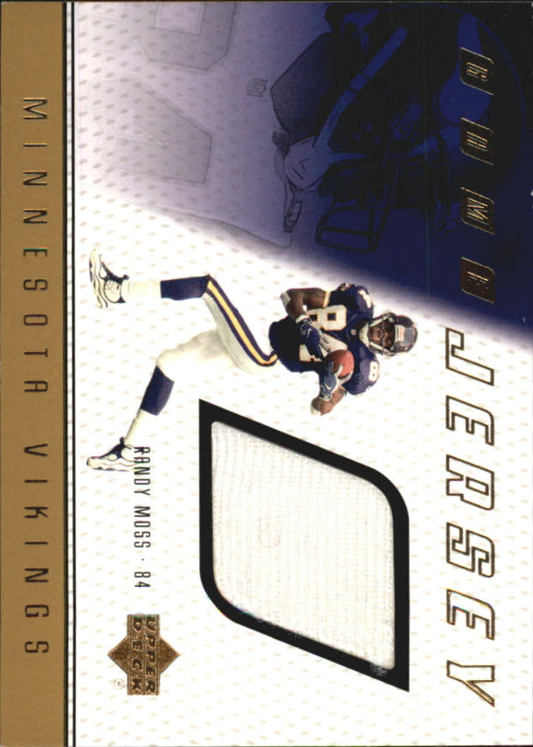 1999 Upper Deck Game Jersey #RM Randy Moss H/R