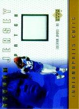 1999 Upper Deck Game Jersey Patch #EJP Edgerrin James