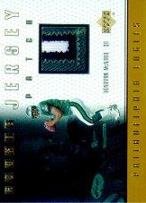 1999 Upper Deck Game Jersey Patch #MCP Donovan McNabb