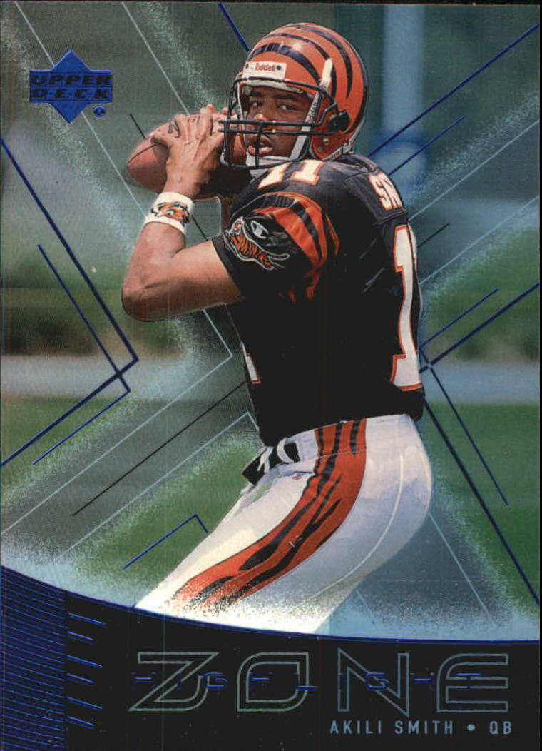 1999 Upper Deck Highlight Zone #Z3 Akili Smith