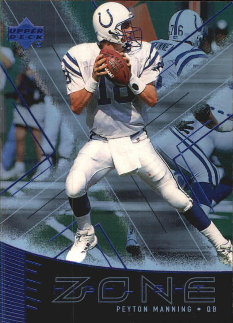 1999 Upper Deck Highlight Zone #Z15 Peyton Manning