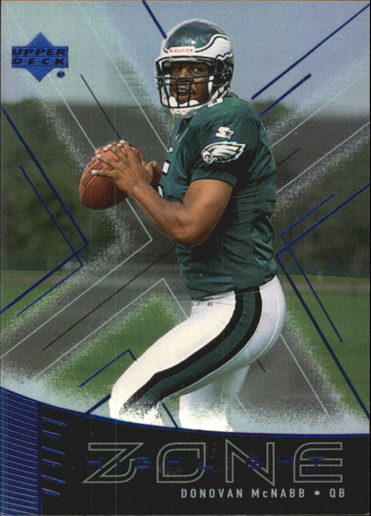 1999 Upper Deck Highlight Zone #Z17 Donovan McNabb