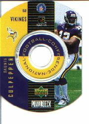 1999 Upper Deck PowerDeck Inserts #3 Daunte Culpepper SP