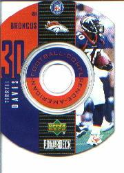 1999 Upper Deck PowerDeck Inserts #4 Terrell Davis