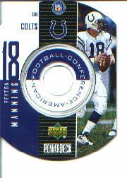 1999 Upper Deck PowerDeck Inserts #10 Peyton Manning SP