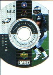 1999 Upper Deck PowerDeck Inserts #11 Donovan McNabb