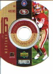 1999 Upper Deck PowerDeck Inserts #13 Joe Montana