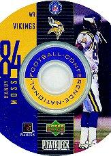 1999 Upper Deck PowerDeck Inserts #14 Randy Moss