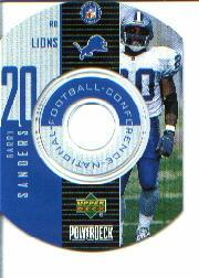 1999 Upper Deck PowerDeck Inserts #15 Barry Sanders SP