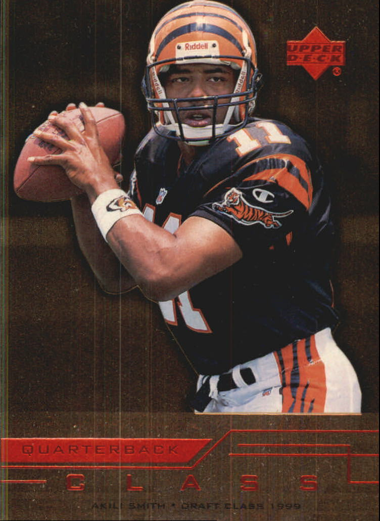 1999 Upper Deck Quarterback Class #QC2 Akili Smith