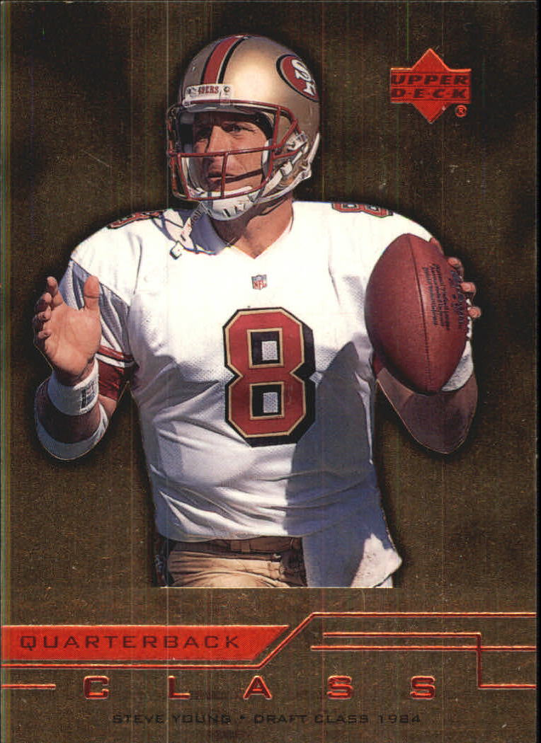 1999 Upper Deck Quarterback Class #QC11 Steve Young