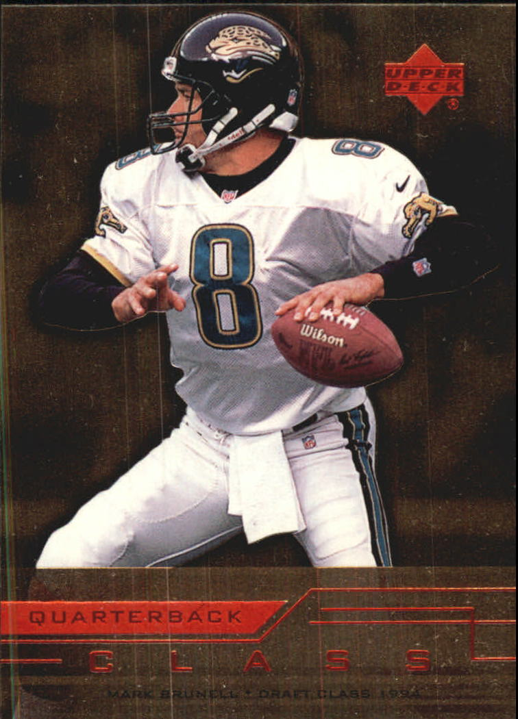 1999 Upper Deck Quarterback Class #QC14 Mark Brunell