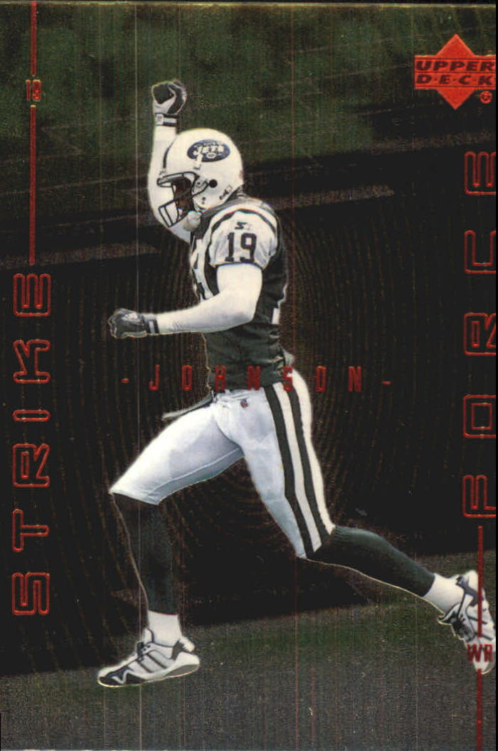 1999 Upper Deck Strike Force #SF2 Keyshawn Johnson