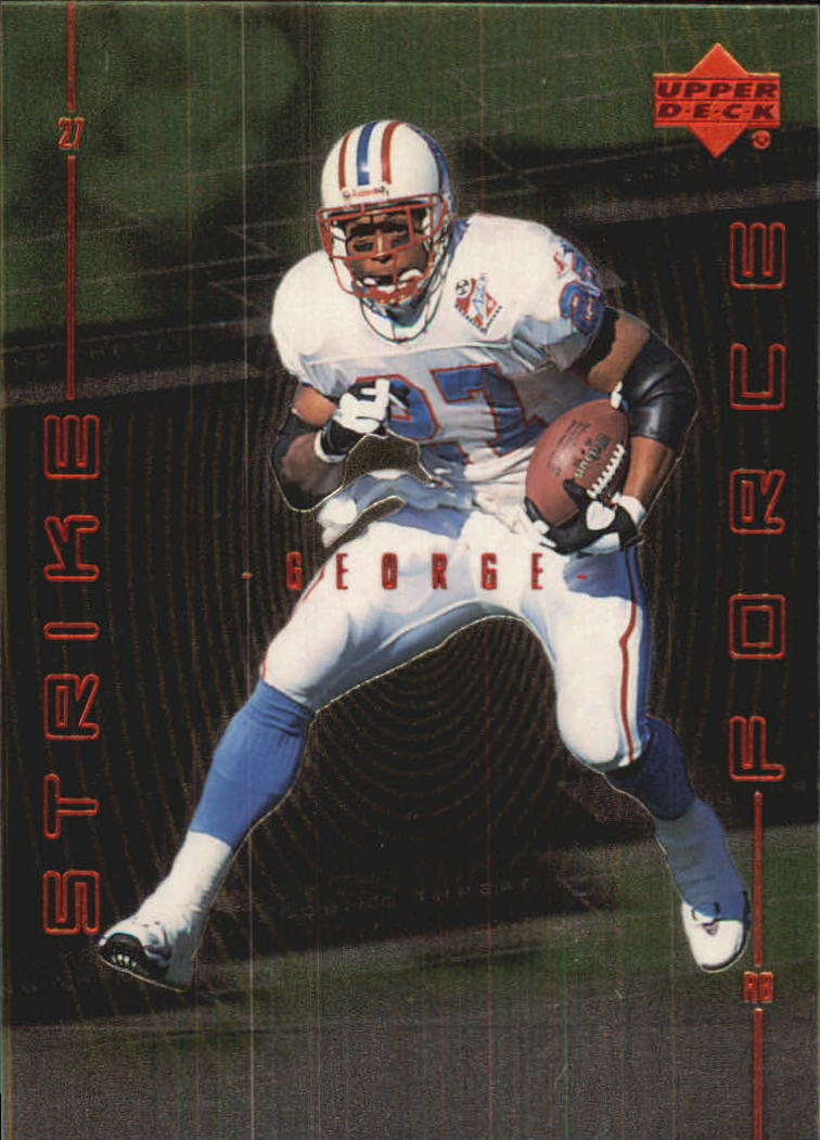 1999 Upper Deck Strike Force #SF3 Eddie George