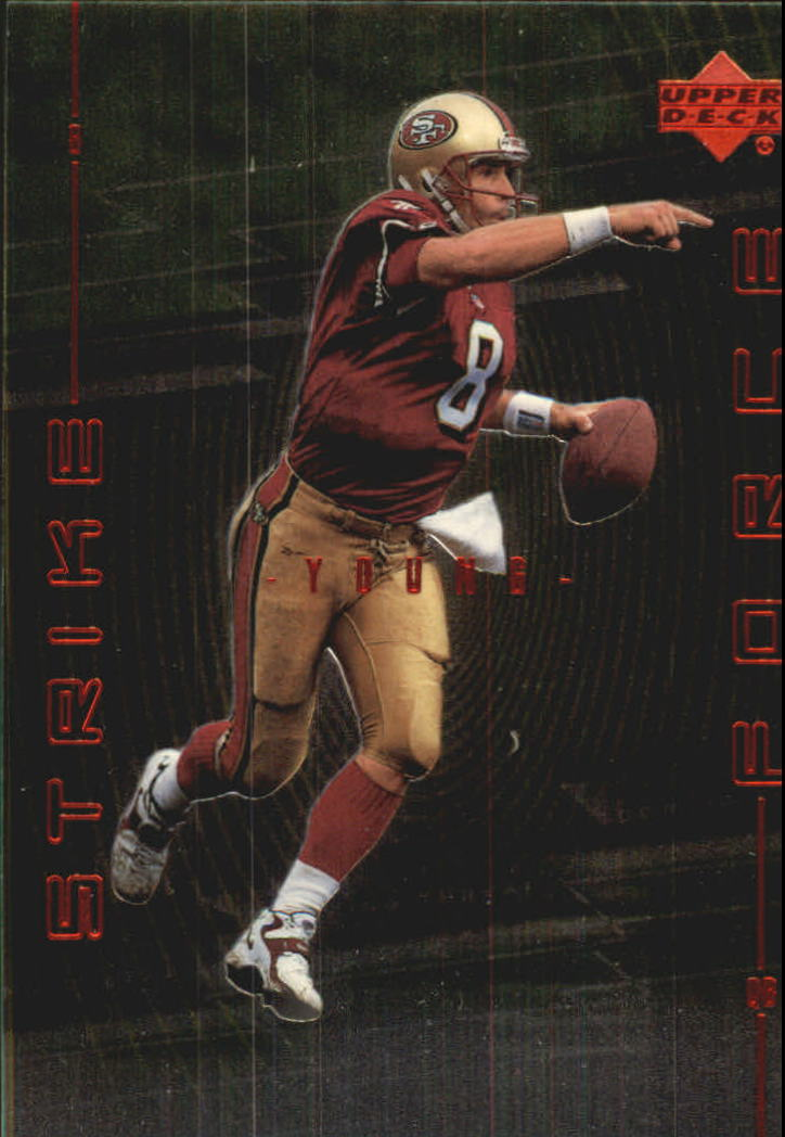 1999 Upper Deck Strike Force #SF4 Steve Young front image