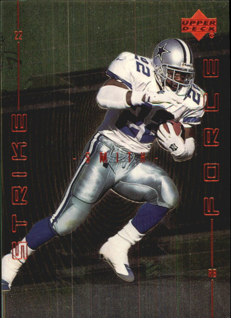 1999 Upper Deck Strike Force #SF5 Emmitt Smith