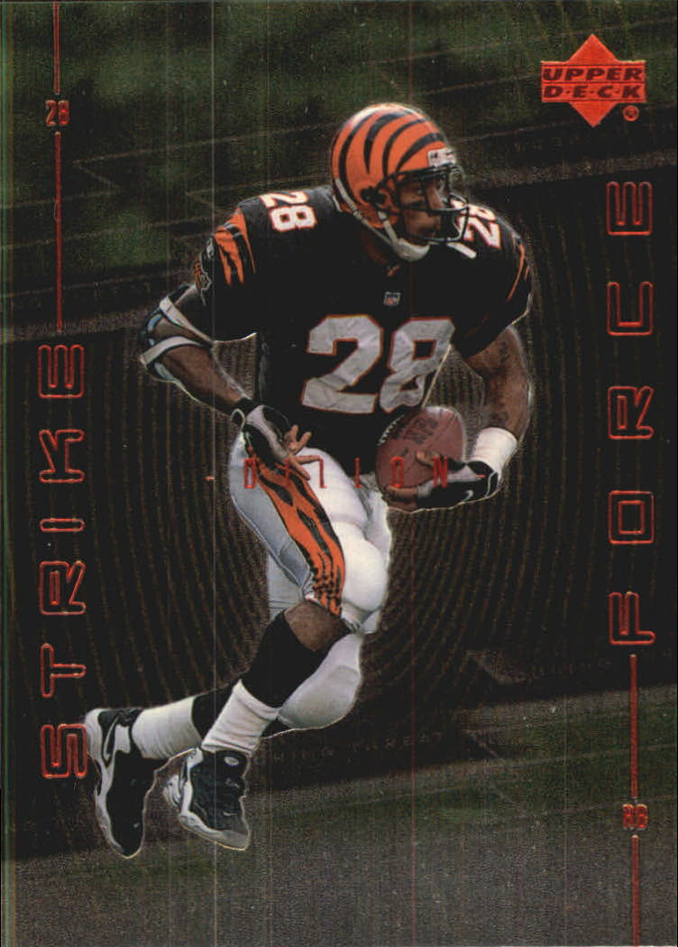 1999 Upper Deck Strike Force #SF10 Corey Dillon
