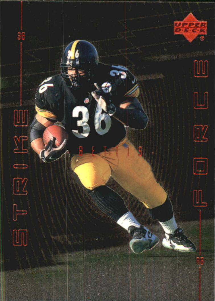 1999 Upper Deck Strike Force #SF13 Jerome Bettis