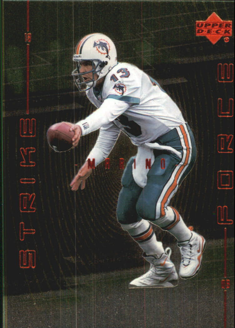 1999 Upper Deck Strike Force #SF15 Dan Marino front image