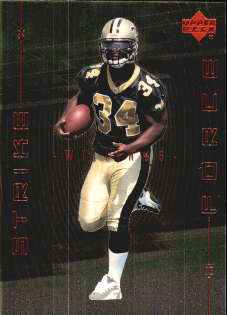 1999 Upper Deck Strike Force #SF18 Ricky Williams