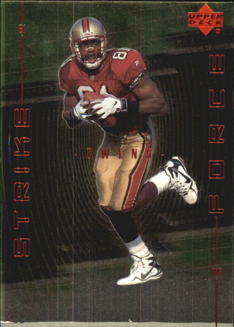 1999 Upper Deck Strike Force #SF19 Terrell Owens