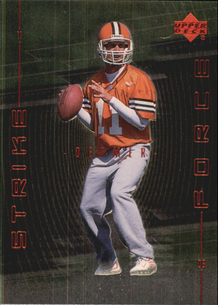 1999 Upper Deck Strike Force #SF20 Ty Detmer