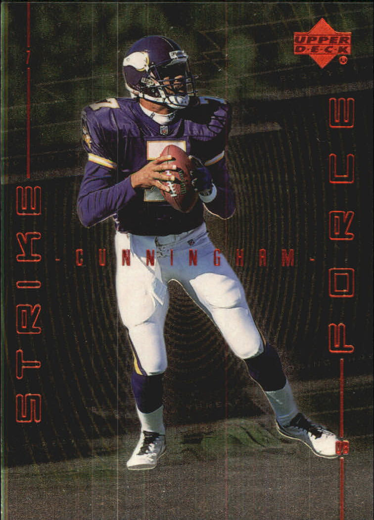 1999 Upper Deck Strike Force #SF23 Randall Cunningham