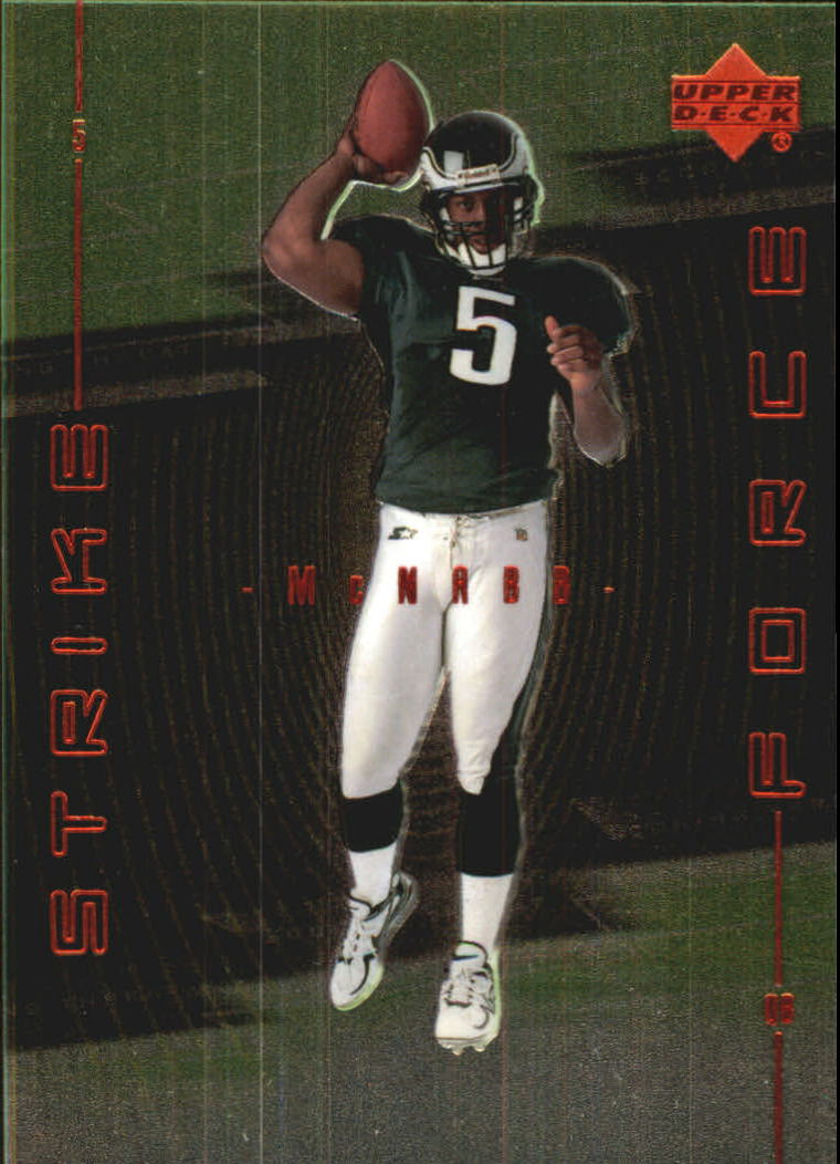 1999 Upper Deck Strike Force #SF24 Donovan McNabb front image
