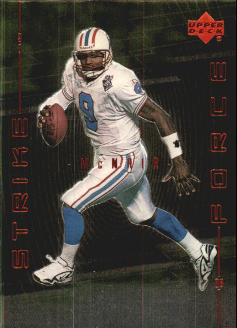 1999 Upper Deck Strike Force #SF25 Steve McNair front image