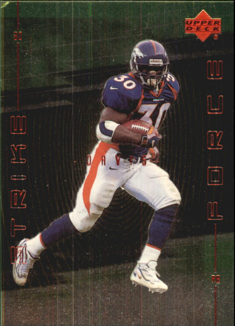 1999 Upper Deck Strike Force #SF26 Terrell Davis