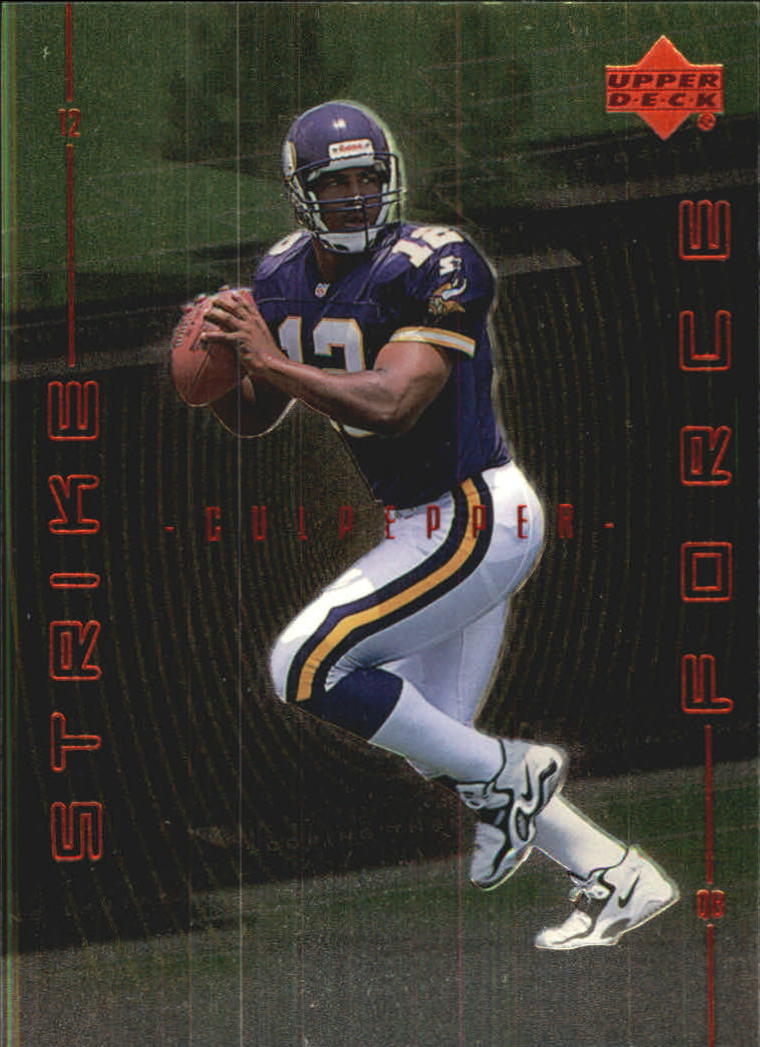 1999 Upper Deck Strike Force #SF27 Daunte Culpepper