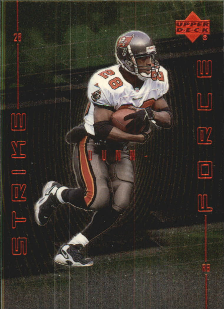 1999 Upper Deck Strike Force #SF28 Warrick Dunn
