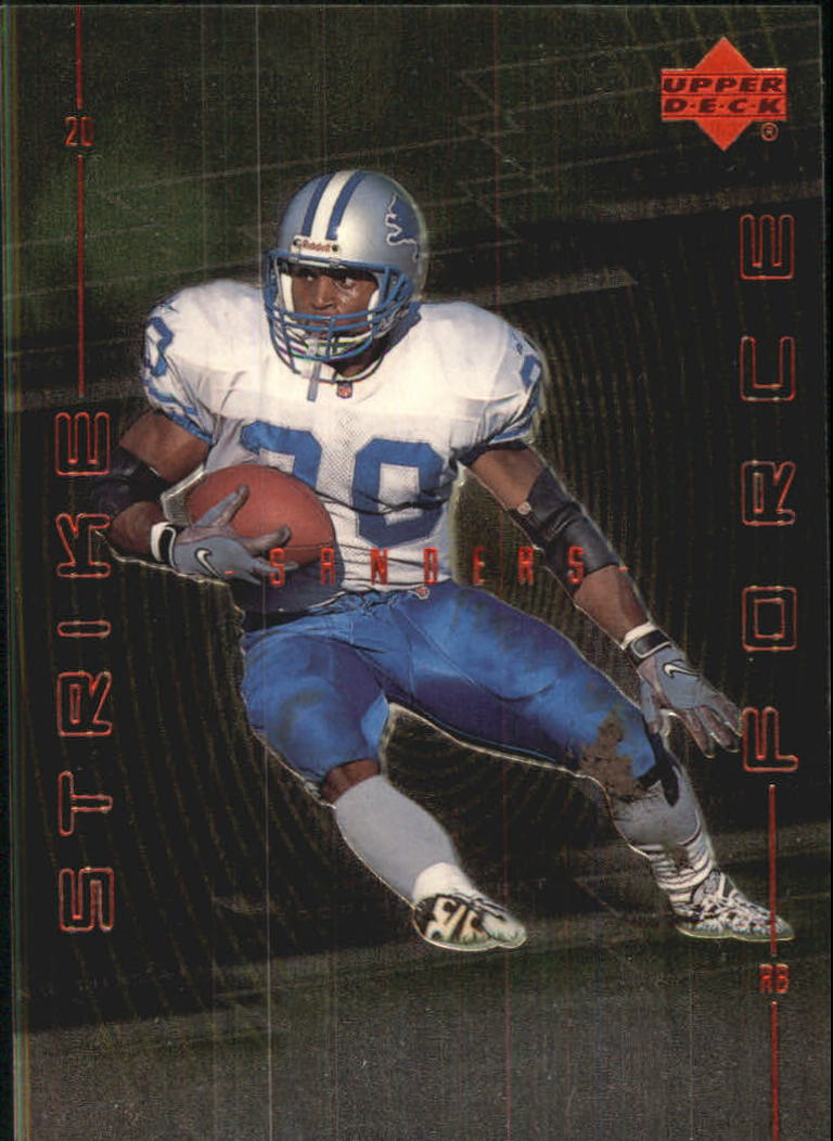 1999 Upper Deck Strike Force #SF30 Barry Sanders