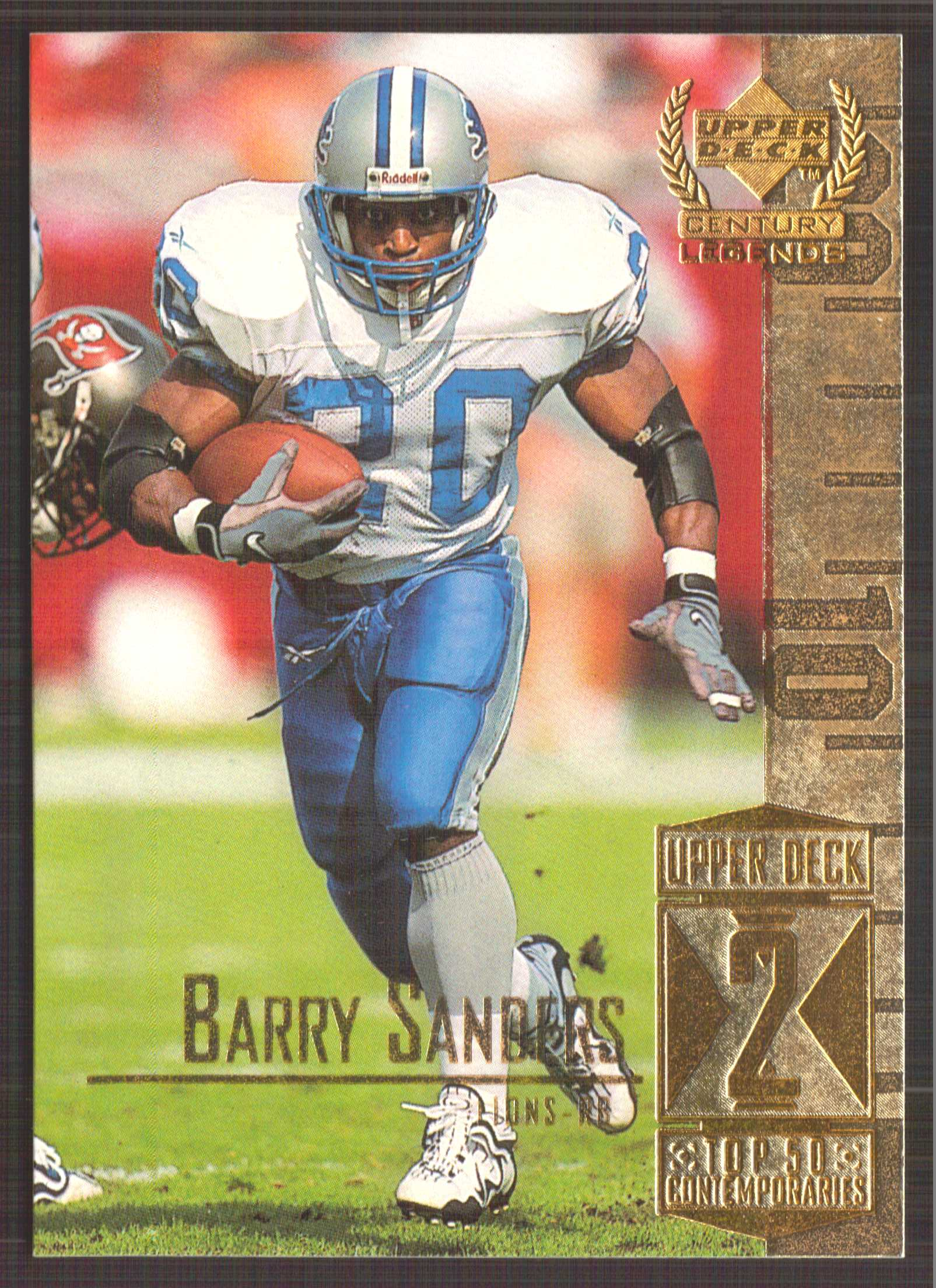 1999 Upper Deck Century Legends #52 Barry Sanders