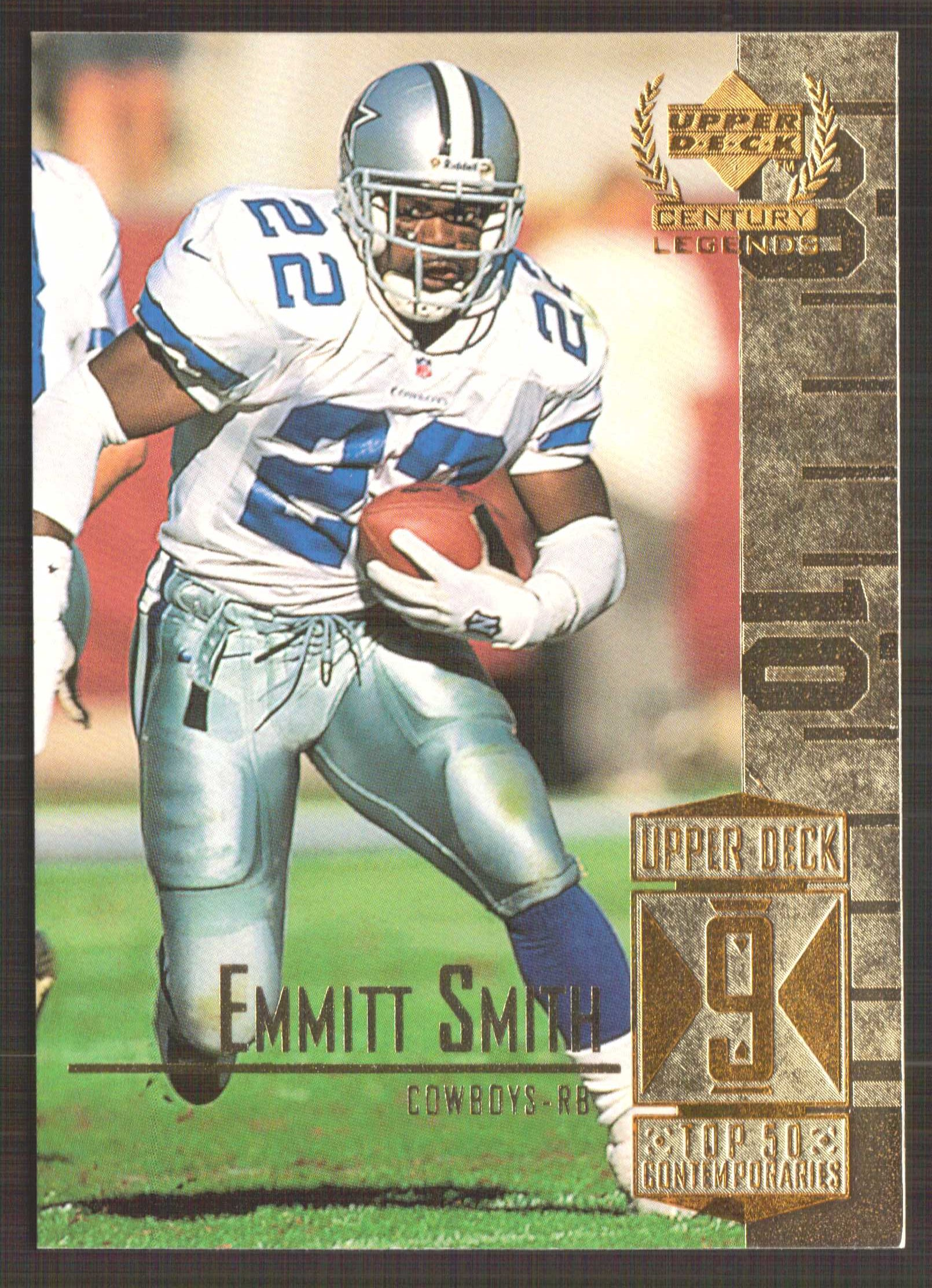 1999 Upper Deck Century Legends #59 Emmitt Smith