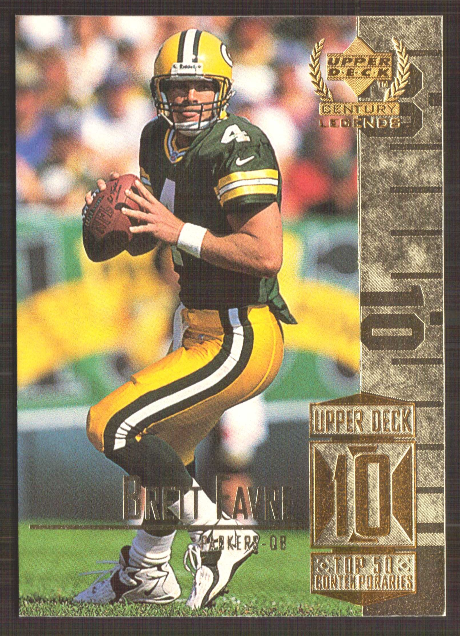 1999 Upper Deck Century Legends #60 Brett Favre