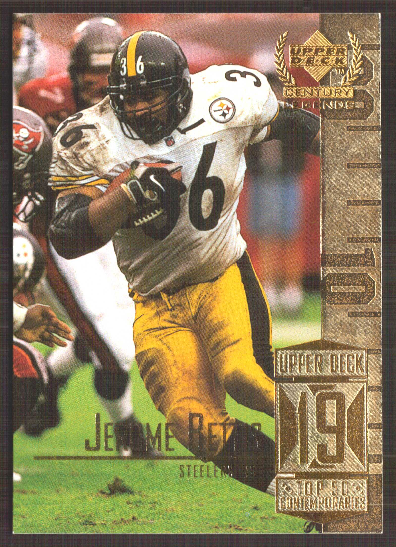 1999 Upper Deck Century Legends #69 Jerome Bettis